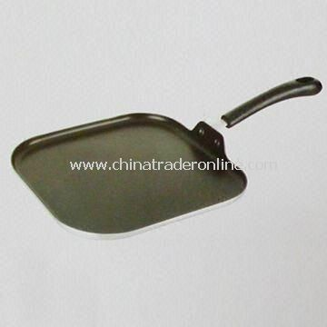 Grill Pan, Made of Aluminum