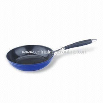 Saute Pan with Stainless Steel Handle, Fast Heat Transfer, Made of Aluminum Alloy