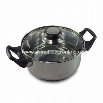 16cm Casserole with Glass Lid and Bakelite Handle/Knob