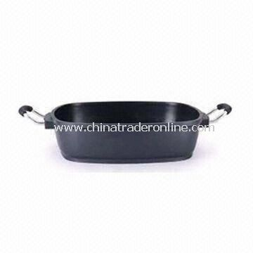 Casserole Pan, Measures 61.5 x 38.5 x 30cm, Made of Aluminum