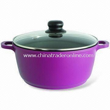 Casserole/Sauce Pan/Sauce Pot, Made of Cast Aluminum, Nonstick