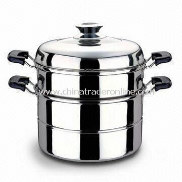 Durable Casserole, Easy to Clean, Made of Stainless Steel, Comes in Different Designs and Sizes