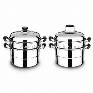Durable Casserole, Easy to Clean, Made of Stainless Steel, Comes in Various Designs and Sizes