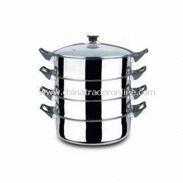 Durable Casserole, Made of Stainless Steel, Easy to Clean, Comes in Various Sizes and Designs