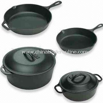 Dutch Oven, Available in Various Colors and Sizes, Made of Enameled Cast Iron