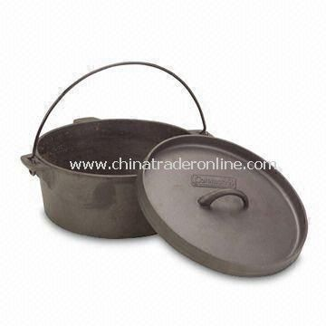 Dutch Oven, with 7.5 Quart Capacity, Resistant to Warping