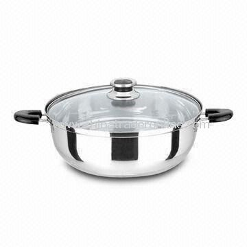 Easy to Clean Casseroles, Made of Stainless Steel, Comes in Different Sizes and Designs