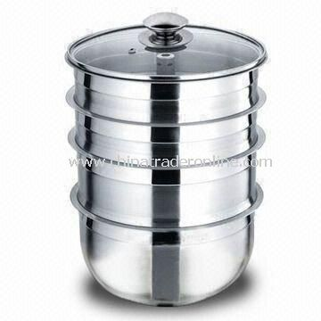 Stainless Steel Casseroles, Easy to Clean, Comes in Various sizes and Designs