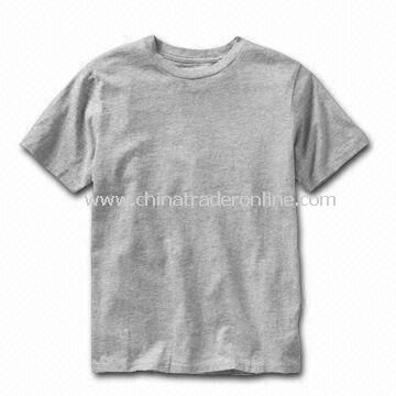 Childrens T-shirts, Made of 100% Cotton, Customized Designs, Fabrics, and Logos are Welcome from China