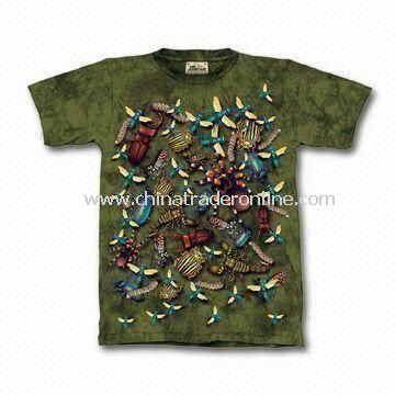 Childrens T-shirts/Childrens Tees/Childrens Top, Customized Colors and Sizes are Welcomed from China