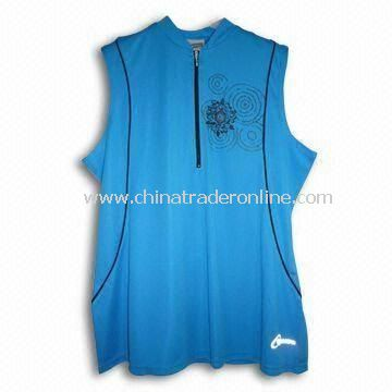 Cycling Jersey/Sportswear, Various Colors and Sizes are Available, Made of 100% Polyester