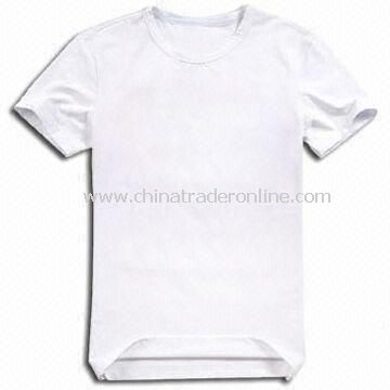 Mens T-shirts, Suitable for Men, Available in White and Blue