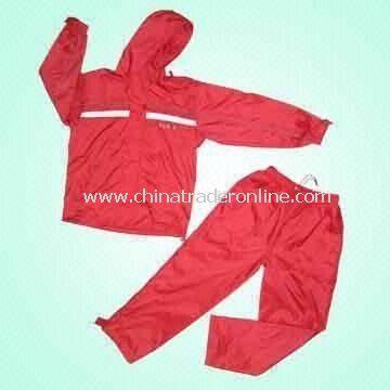 Nylon Sportswear with PU Backing and Tafetta Lining