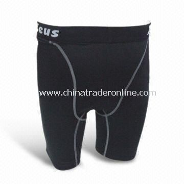 Sports Compression Short Wear, Good Stretch and Comfortable for Bike, Swimming and More
