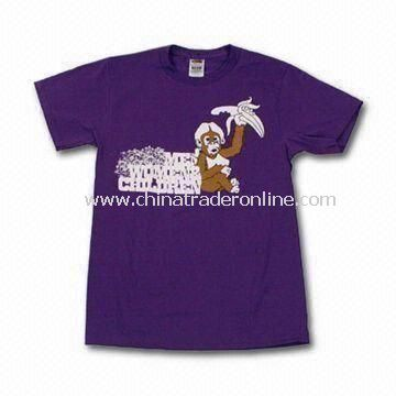Tee Style Childrens T-shirts/Top, Customized Materials, Styles, and Colors are Welcome from China