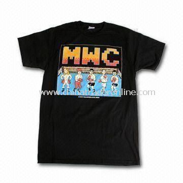 Tee Style Childrens T-shirts/Top, Various Colors are Available from China
