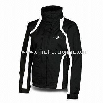 Waterproof/Breathable Mens Multifunction Ski Jacket/Sportswear with Water Repellent Finish