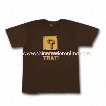 Wholesale Mens T-shirts, Made of Cotton Material, Available in Customized Designs