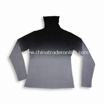 100% Soft Acrylic Sweater, Soft Hand Feel, Suitable for Women