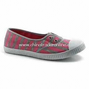 Canvas Shoes for Women, Fashionable Design, Light-footed, Soft and Comfortable, Made of EVA