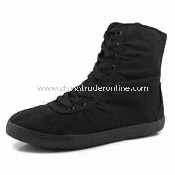 Canvas Shoes in Various Colors and Sizes, Suitable for Women, Fashionable Design, Made of EVA