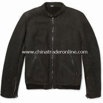 Mens Casual Jacket, OEM Orders are Welcome, Made of 100% Cotton or Canvas from China