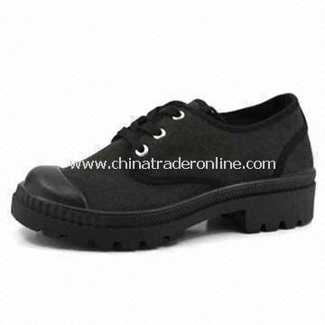 Womens Canvas Shoes, Suitable for Casual Wear, Made of EVA, Light-footed, Soft and Comfortable from China