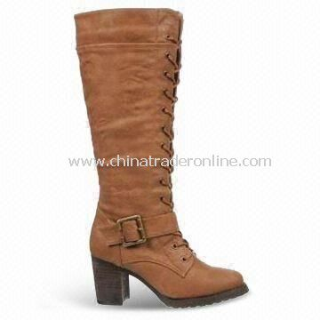 Womens Dress Shoes with PU Upper, OEM and ODM Orders are Welcome, Various Models are Available from China