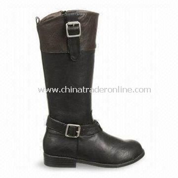 Womens Dress Shoes with PU Upper, OEM and ODM Orders are Welcome, Various Models are Available