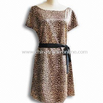 Womens Skirt/Casual Dress, Made of Polyester and Spandex, Sleeveless