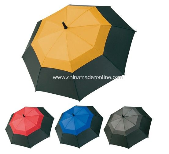 Bicolor Double Layers Golf Umbrella