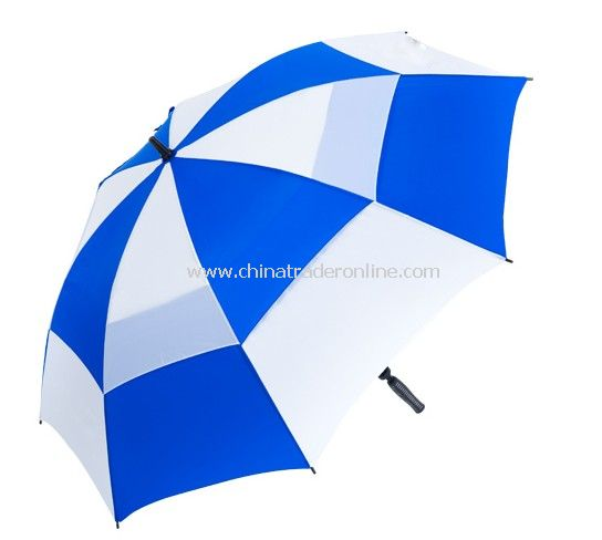 Double Layers Vented Golf Umbrella