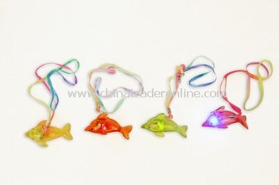 Flashing Dolphin Necklace