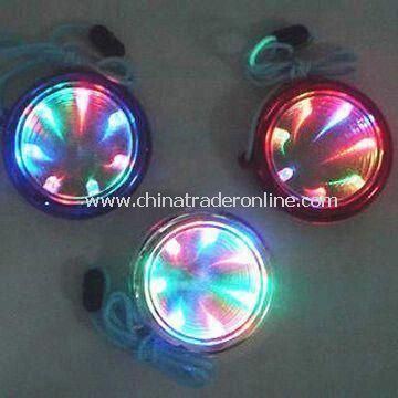 Flashing Time Tunnel Necklace, Available in Various Luminescence Colors