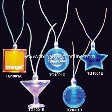 LED Flashing Light Necklaces
