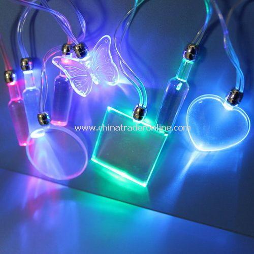 LED Flashing Necklace, LED Blinking Necklace, Advertising Gifts