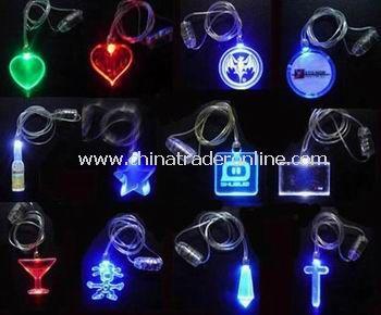 LED Flashing Necklace from China