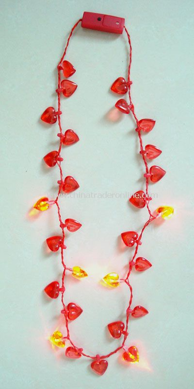 Valentines Day Flashing Necklace