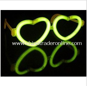 500 8 Glow Sticks + 20 Glow Glasses Halloween Neon Necklaces Rave Bracelets