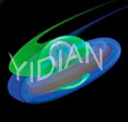 9inch Glow Stick Light Sticks Frisbee