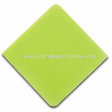 Cup Mat, Suitable for Gift Purposes, Made of Silicone, High Wearing and Flame Resistivity