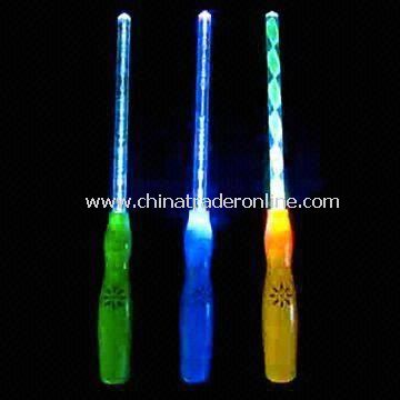 Glowing Stick with 28cm Total Length, Used to Enhance Party Atmosphere, Made of Acrylic from China