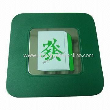 Plastic Pad/Coaster, ABS Mat/Cup Coaster, Cup Mat, Printing/Fashionable Coaster