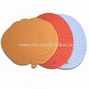 Silicone Cup Mat, OEM/ODM Orders are Welcome, Available in Various Pantone Card Colors
