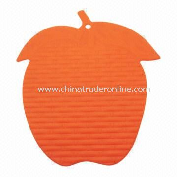 Silicone Cup Mat/Silicone Rubber Coaster, Customized Sizes Welcomed