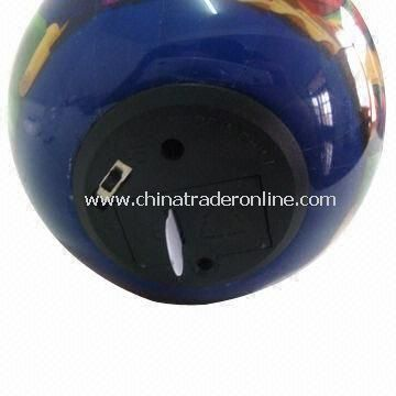 Christmas Music Ball with MP3 Music Chips, Sound Control Switch is Equipped