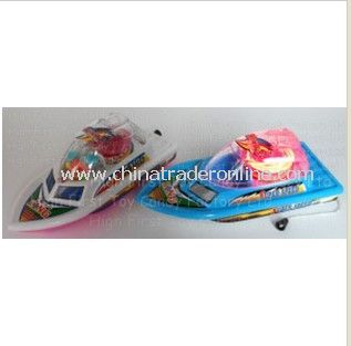 Flash Boat Candy Toys