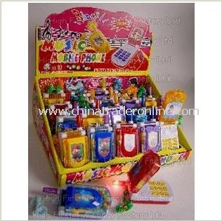 Flash Music Mobile Toy Candy