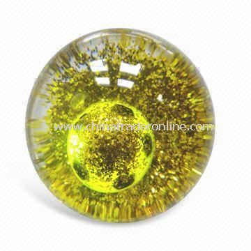 High-bounce Glitter Water Ball, European Standard Compliant from China