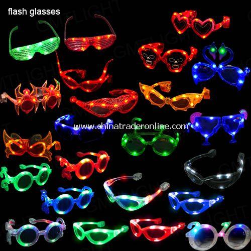 LED Flash Glasses